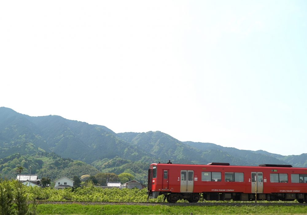 JR久大本線(久留米~田主丸間)